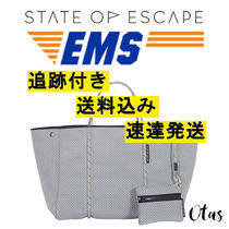 追跡付送料込【STATE OF ESCAPE】Escape tote Grey グレー