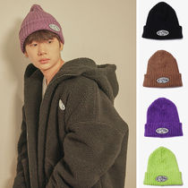 Default(デフォルト) ニットキャップ・ビーニー 【Default】LOGO PATCH BEANIE(4color) - UNISEX