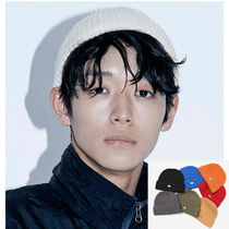 Default(デフォルト) ニットキャップ・ビーニー 【Default】IRON LOGO BEANIE (8color) - UNISEX