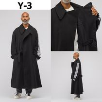 追跡有り配送!Y-3 Long  Wool Coat  Black