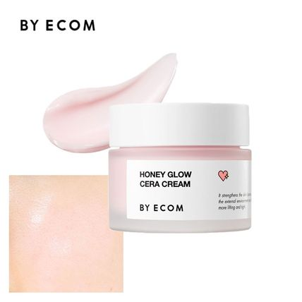 美容液・クリーム BY ECOM★HONEY GLOW CERA CREAM 50g