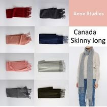[Acne] Canada Skinny long スキニーロングマフラー280x25㎝ 8色