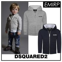 18AW☆D SQUARED2★BABYBOYS★ロゴZIP UPトップス[12-18M]
