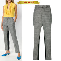 VIP価格 N21 checked side stripe trousers 小さいサイズあり