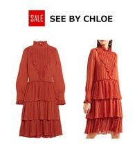 ★SALE★See by Chloe  シフォン ワンピース