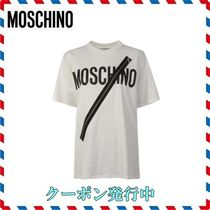 ◆ MOSCHINO◆LOGO ZIP T SHIRT