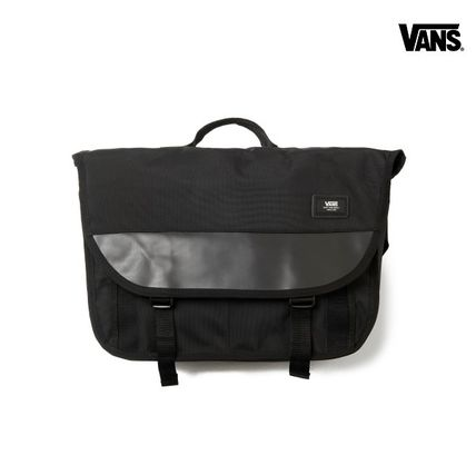 VANS(バンズ)18FW新作★BLOCK SHOULDER PACK - BLACK