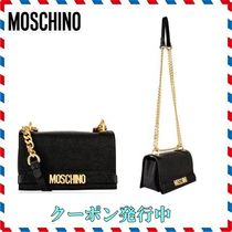 ◆ MOSCHINO◆CAVERA LEATHER チェーンバッグ