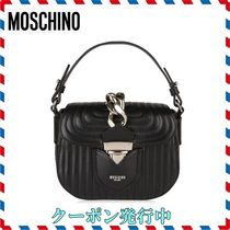 ◆ MOSCHINO◆QUILTED CHAIN BAG