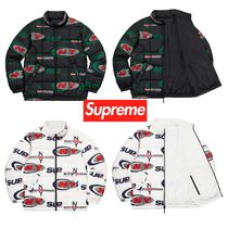 FW18 Supreme NY Reversible Puffy Jacket - パフィージャケット