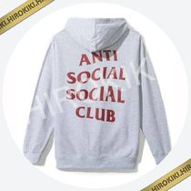 Anti Social Social Club Dramatic Grey Hoodie ASSC Hooded 灰