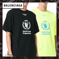 早期完売★BALENCIAGA World Food Programme Tシャツ/NewArrival