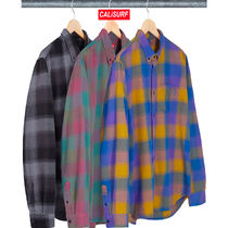【AW18】Supreme(シュプリーム) Shadow plaid flannel shirt