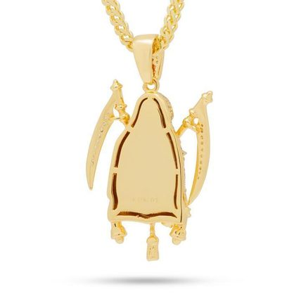 King Ice ネックレス・チョーカー 【King Ice】☆新作☆The 14K Gold Reaper Necklace(2)