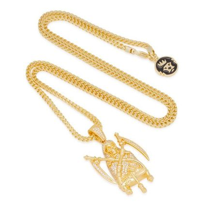 King Ice ネックレス・チョーカー 【King Ice】☆新作☆The 14K Gold Reaper Necklace(3)