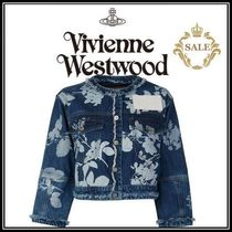 【SALE】Vivienne Westwood◆ANGLOMANIA ホワイトローズデニム