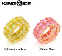 【King Ice】☆新作☆海外限定☆ The Two-Row Ring