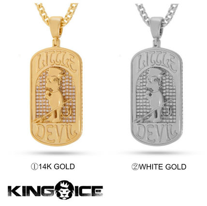 """King Ice ネックレス・チョーカー 【Simpsons x King Ice】新作☆The Bart """"Lil Devil"""" Necklace"""