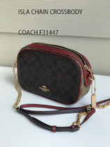 追跡有 COACH★ISLA CHAIN CROSSBODY F31447*ロゴ入り