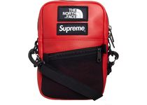 Supreme x North Face Leather Shoulder red  FW18 バック