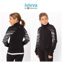 <ivivva>Perfect Your Practice Jacket  ブラック柄