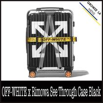 ★【OFF-WHITE】OFF-WHITE x Rimowa See Through Case Black