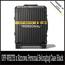 ★【OFF-WHITE】OFF-WHITE x Rimowa Personal Belonging Case