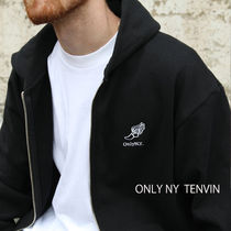 2018AW ★ONLY  NY★Heavyweight Track Zip-Up パーカー Black