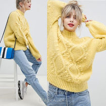 ASOS(エイソス) ニット・セーター 国内発送ASOS DESIGN cable jumper with bobble stitch