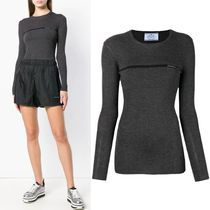 PR1512 RIBBED KNIT SWEATER