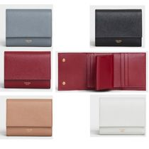 【CELINE】SMALL TRIFOLD WALLET IN GRAINED CALFSKIN