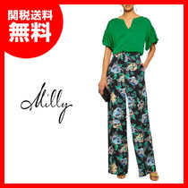 SALE【MILLY】シルク混ブラウス★関税送料込
