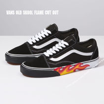 VANS★OLD SKOOL★FLAME CUT OUT★兼用