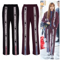 ★STRETCH ANGELS★ Double logo strap track pants  /2色