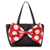 DISNEY ディズニーMinnie Mouse Signature Satchel by Loungefly