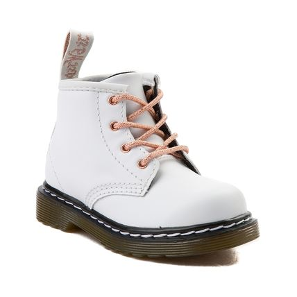 DR MARTENS ベビー&キッズ INFANT 1460 SOFTY T(ホワイト)