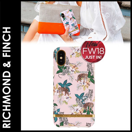 ★3-7日着/追跡&関税込【RICHMOND&FINCH】iPhone/PINK TIGER