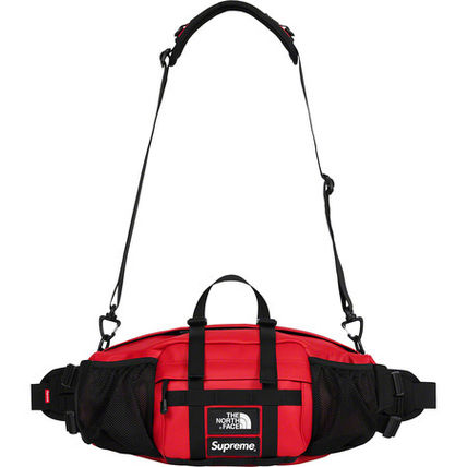Supreme / The North Face Leather Mountain Waist Bag