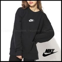 国内発送・正規品★NIKE MEN'S FRENCH TERRY CREW SWEAT★BLACK