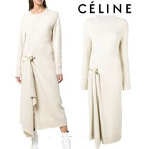 【18AW】★CELINE★front fastened dress