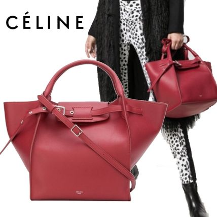 【18AW】★CELINE★buckle top-handle tote
