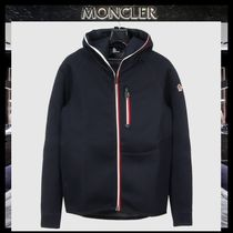 【MONCLER】18AW GRENOBLEフードジップアップパーカー NAVY/EMS