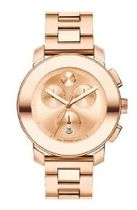 MOVADO BOLD 3600076 LADIES STAINLESS STEEL CASE CHRONOGRAP