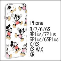 [送関込]SKINNYDIP×Disney クリア DANCING MICKEY iPhoneケース