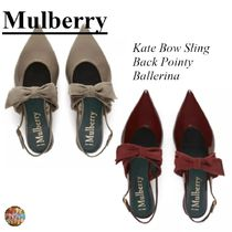 マルベリー☆Kate Bow Sling Back Pointy Ballerina☆靴☆リボン