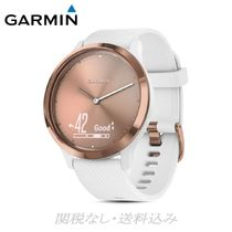 GARMIN(ガーミン) 腕時計その他 vivomove HR Sport Hybrid White Smartwatch, 43mm