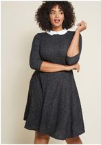 modcloth(モドクロス) ワンピース perfectly proper knit dress
