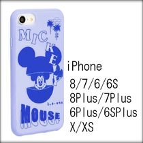 [送関込]SKINNYDIP×Disney◇青 MICKEY INCEPTION iPhoneケース