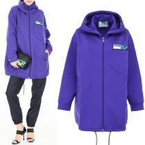 PR1538 TECHNO JERSEY HOODIE WITH LOGO PATCH