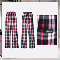 checkered flannel pijama pants